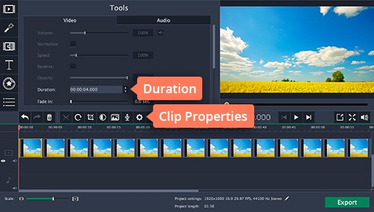 Create a video in time-lapse maker