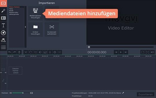 Verwenden Sie die Untertitel-Software von Movavi