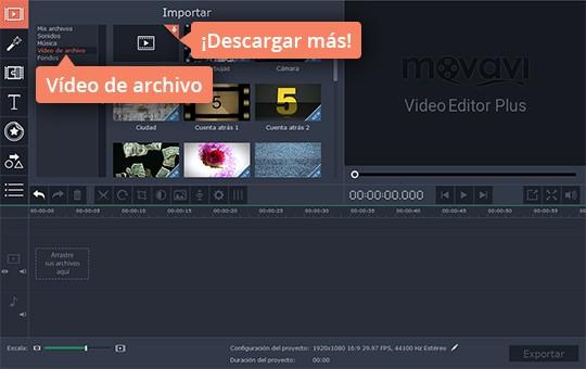 Monte su vídeo añadiendo efectos diferentes con Movavi