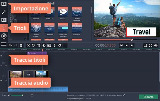 Scoprite come realizzare un video con Movavi