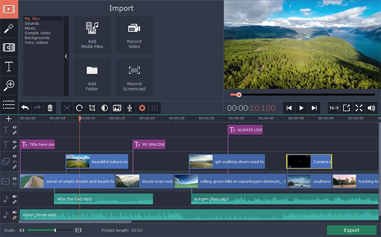Movavi Video Editor Plus Mac 破解版 视频编辑软件-麦氪派(WaitsUn.com | 爱情守望者)