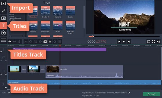 Add an audio track to make your video special