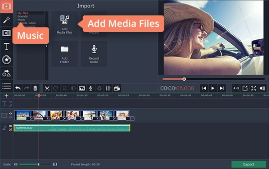 Slideshow with Music | Photo-to-Video Maker with Music - Movavi