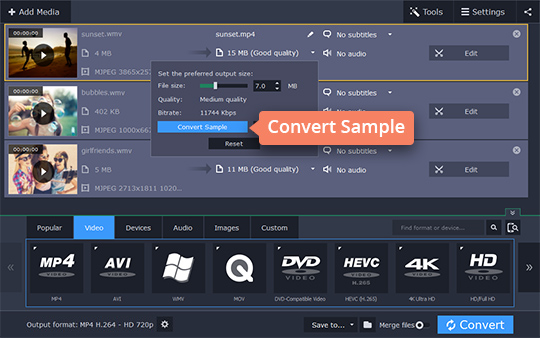 Convert WMV to MP4: Try Online or Desktop WMV-to-MP4
