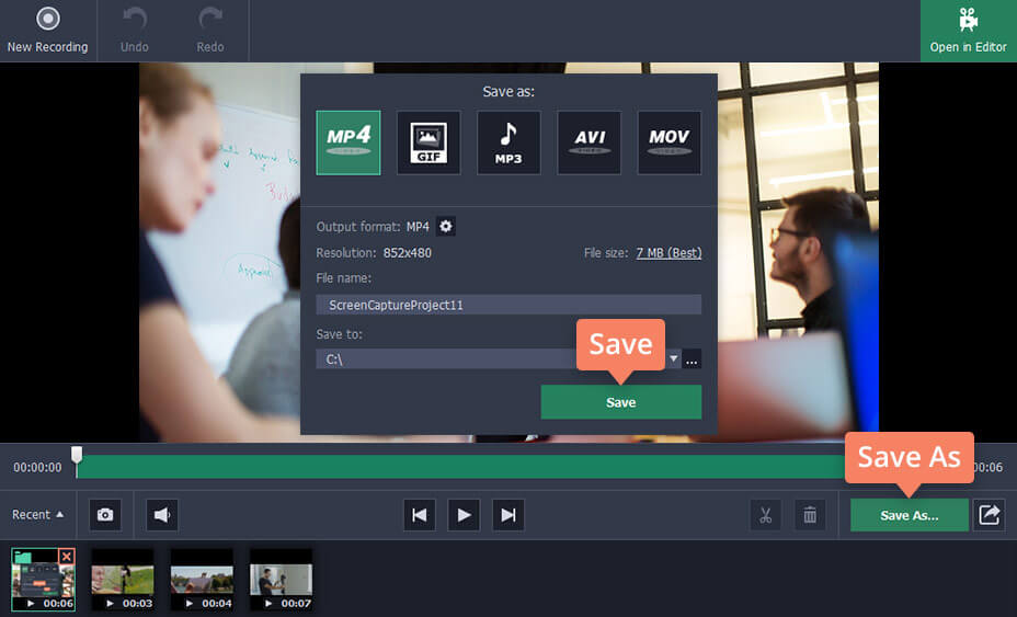 3 Ways to Capture Videos on PC | Video Capture Software - Movavi