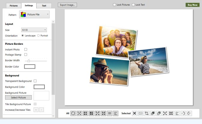 CollageIt is a most easy-to-use collage maker which allows you to make photo collages on Mac and Windows automatically in minutes.