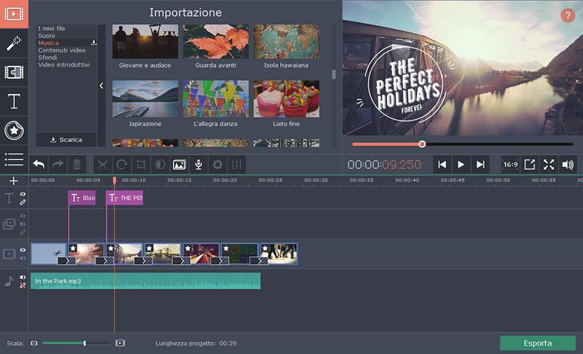 Programma per creare video con pochi clic movavi video suite - Programma per creare cucine gratis ...
