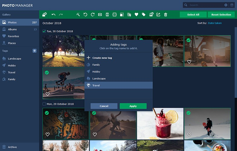 Movavi Photo Manager Mac 破解版 简单好用的图片浏览和管理工具-麦氪派