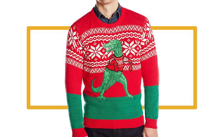 ea63cbf50b8 Men s Blizzard Bay Timmy the T-Rex Sweater