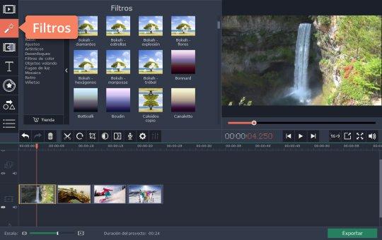 Edite vídeo con el editor de vídeo de YouTube de Movavi