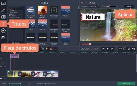 Aprenda cómo hacer las películas de YouTube con Movavi