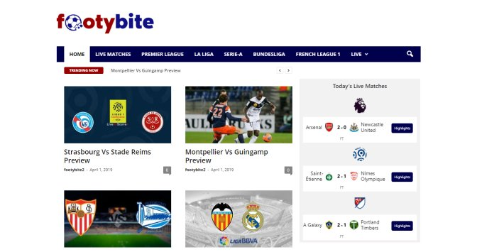 Best Free Sports Streaming Sites | Live Streaming Services