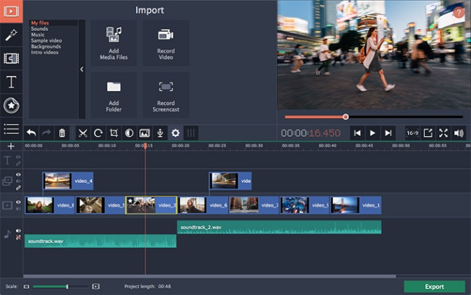 GoPro Video Editor   Best GoPro Video Editing Software – Movavi