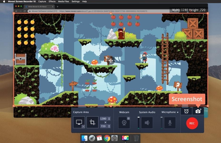 How to Take a Screenshot on Mac   Capture Screen on Mac - Movavi