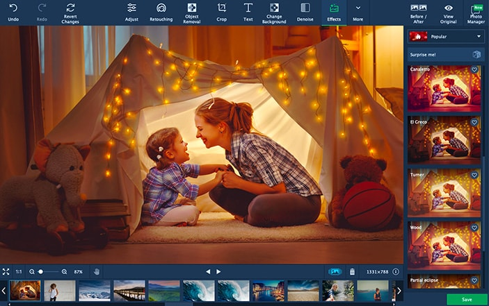 Photo Editing Software | Download Movavi Photo Editor for PC