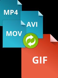 Как конвертировать видео в GIF при помощи конвертера Movavi