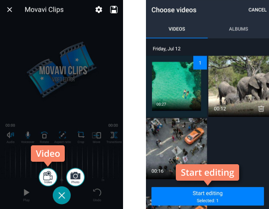 Remove Audio from Video | How to Mute a Video with Movavi