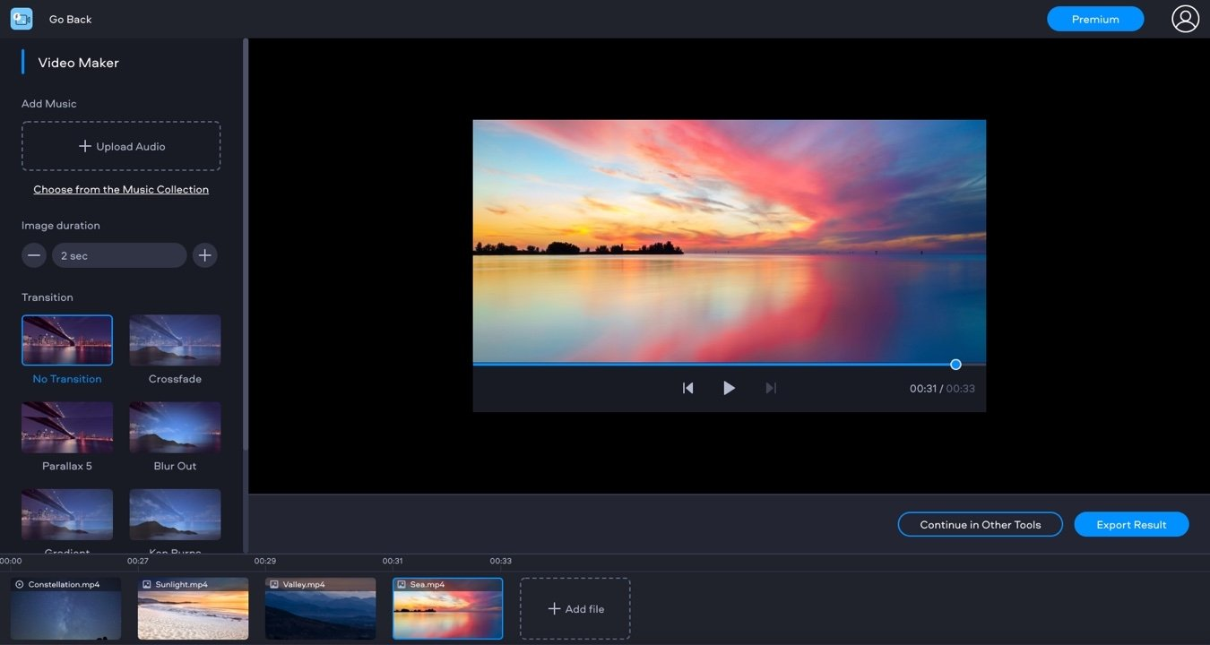 video maker online free