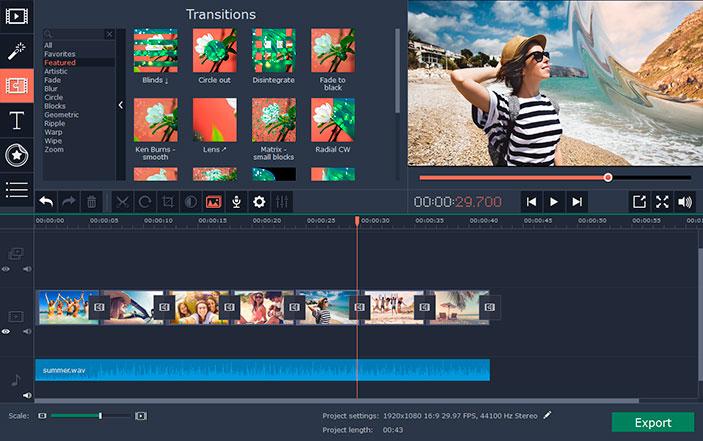 Movavi Slideshow Maker 4 for Mac 4.0.0 激活版 – 专业幻灯片制作应用