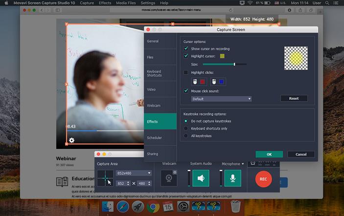 Movavi Screen Capture Studio 10.0.1 Mac 破解版 – 强大的屏幕录制编辑工具-麦氪派