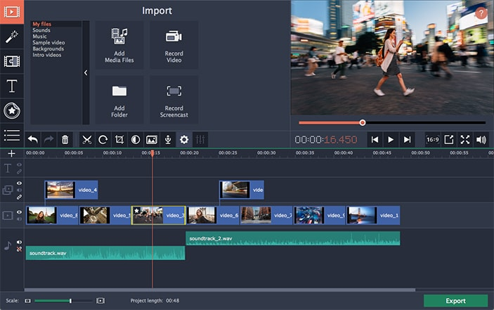 video editing software for windows 10