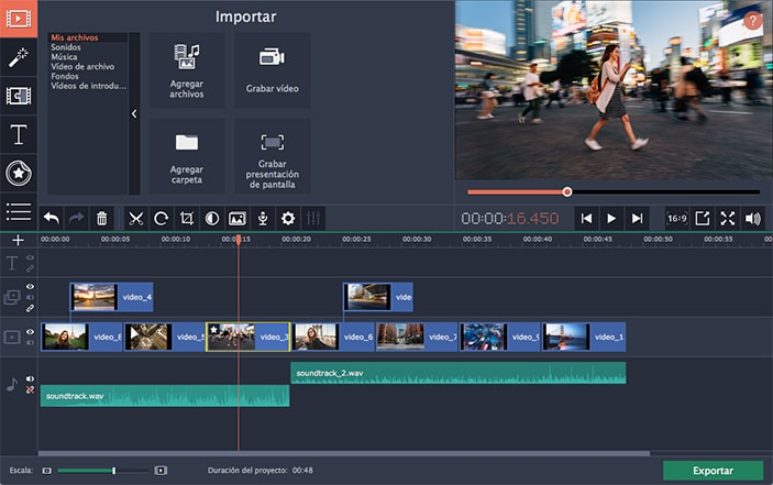 descargar editor de video para mac gratis