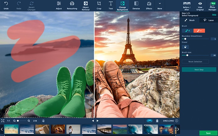 automatic photo cropping software free download full version
