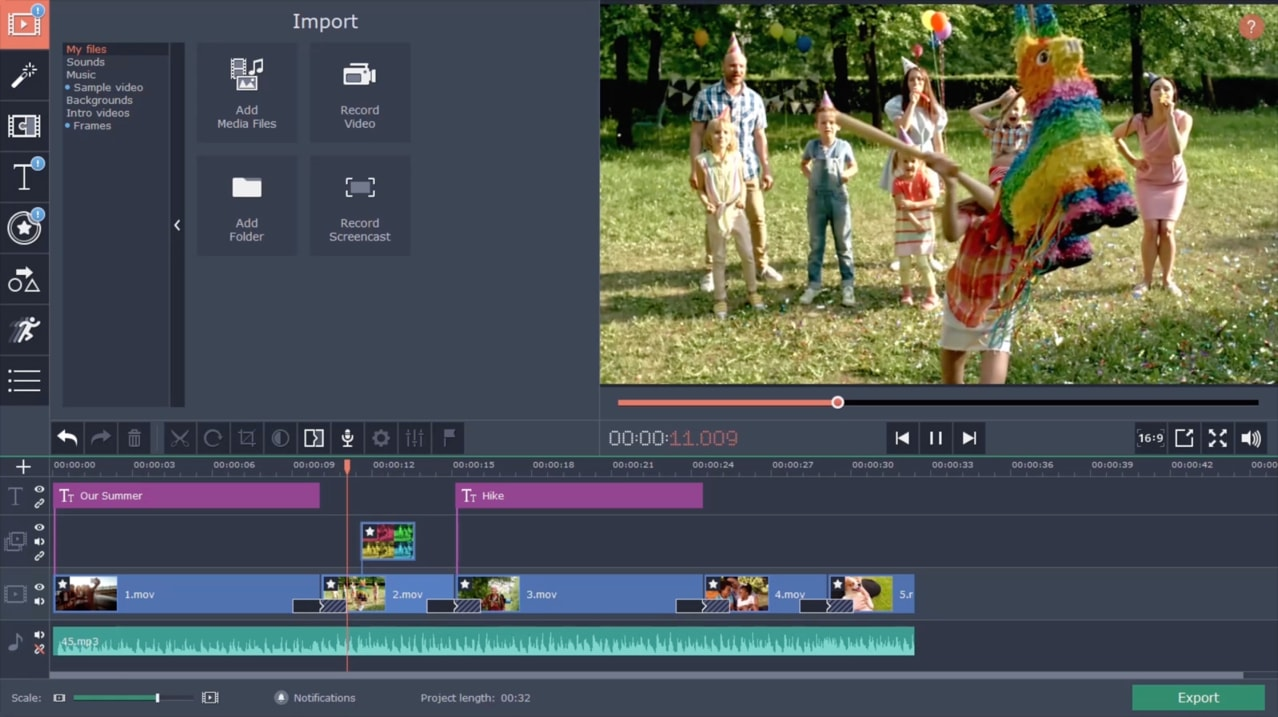 Movavi Video Editor Free Download Video Editing Software